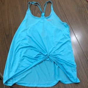 Nike knotted tank top! Thin and perfect!